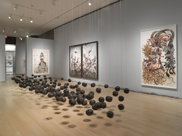 Wangechi Mutu at the Brooklyn Museum, 2014